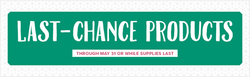 Stampin'Up! Last Chance Products